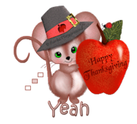 Yeah - ThanksgivingMouse