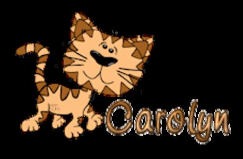 Carolyn - CuteCatWalking