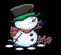 Me - Snowman&Bird