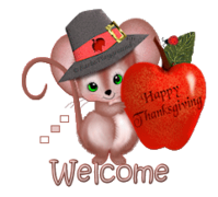 Welcome - ThanksgivingMouse