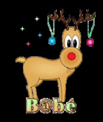 B@be (MC) - ChristmasReindeer