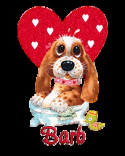 Barb - ValentinePup2016