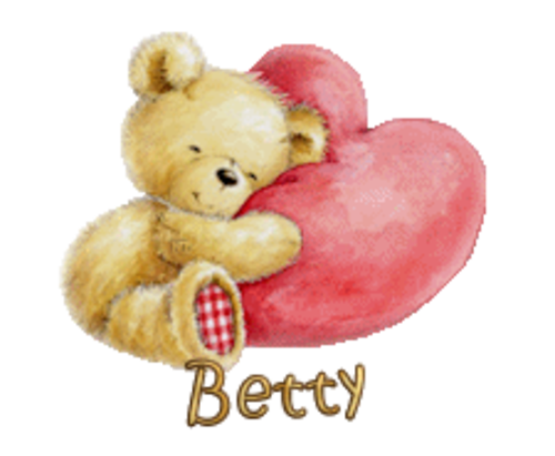 Betty - ValentineBear2016
