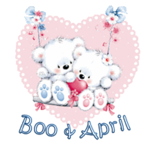 Boo & April - ValentineBearsCouple