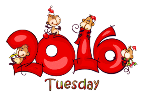 DOTW Tuesday - 2016WithMonkeys