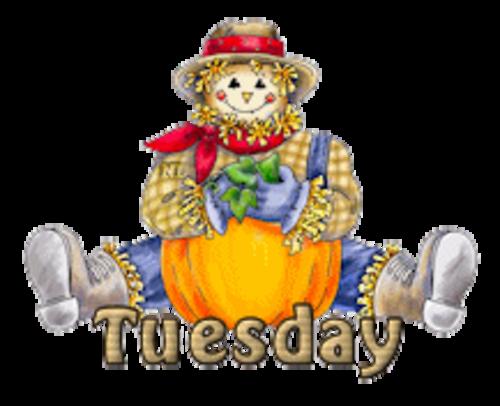 DOTW Tuesday - AutumnScarecrowSitting