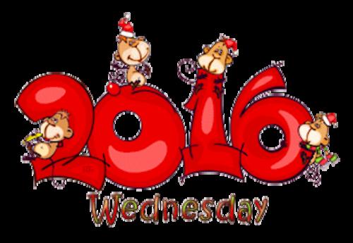 DOTW Wednesday - 2016WithMonkeys