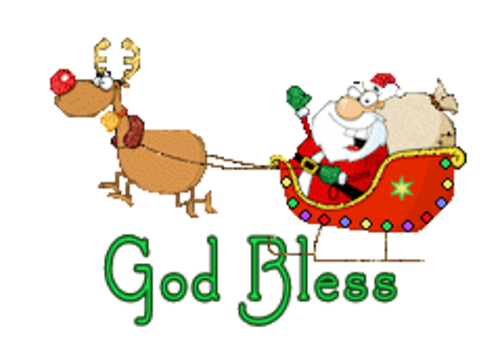 God Bless  - SantaSleigh