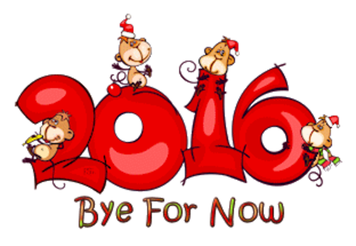 Bye For Now - 2016WithMonkeys