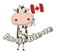 AngeBleue - CanadaDayCow