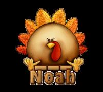 Noah - ThanksgivingCuteTurkey