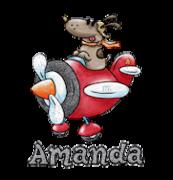 Amanda - DogFlyingPlane