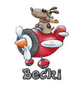 Becki - DogFlyingPlane