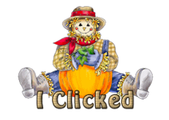 I Clicked - AutumnScarecrowSitting