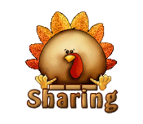 Sharing - ThanksgivingCuteTurkey