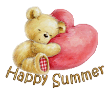 Happy Summer - ValentineBear2016