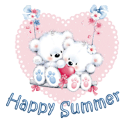 Happy Summer - ValentineBearsCouple2016