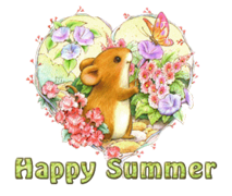 Happy Summer - MouseHeartAndFlowers