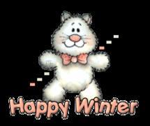 Happy Winter - HuggingKitten NL16
