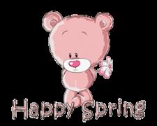 Happy Spring - ShyTeddy