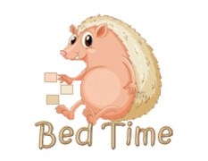 Bed Time - CutePorcupine