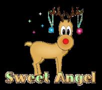 Sweet Angel - ChristmasReindeer