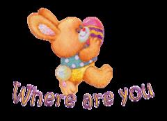 Where are you - EasterBunnyWithEgg16