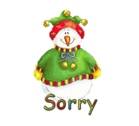 Sorry - ChristmasJugler