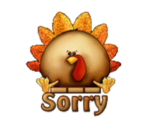 Sorry - ThanksgivingCuteTurkey