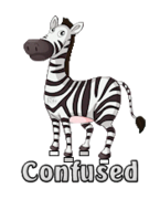 Confused - DancingZebra