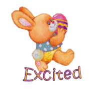 Excited - EasterBunnyWithEgg16