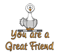 You are a Great Friend - OstrichWithBlinkie