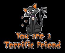 You are a Terrific Friend - HalloweenKittySitting