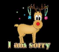 I am sorry - ChristmasReindeer