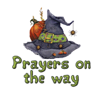 Prayers on the way - CuteWitchesHat