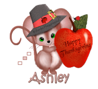 Ashley - ThanksgivingMouse