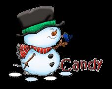 Candy - Snowman&Bird