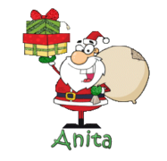 Anita - SantaDeliveringGifts