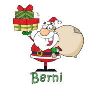 Berni - SantaDeliveringGifts
