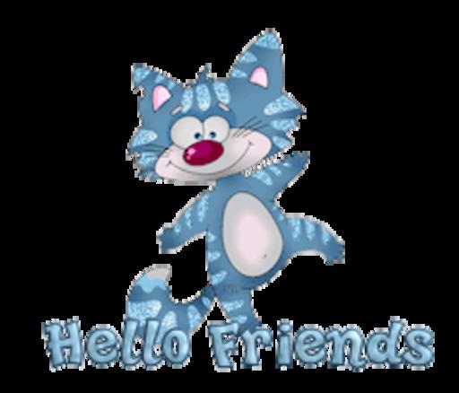 Hello Friends - DancingCat