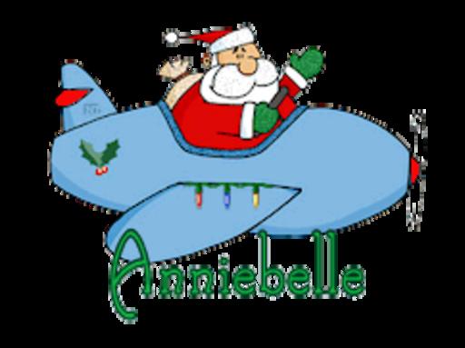 Anniebelle - SantaPlane