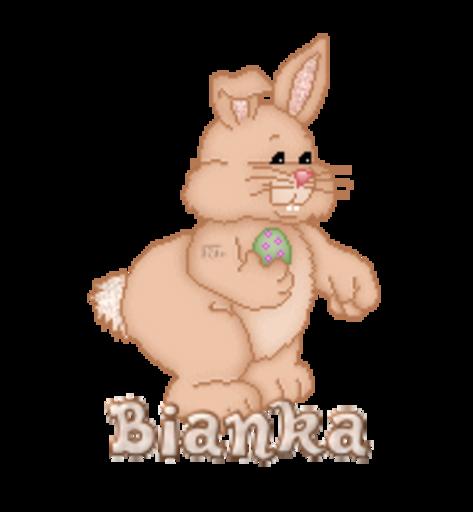Bianka - BunnyWithEgg