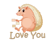 Love You - CutePorcupine