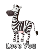 Love You - DancingZebra