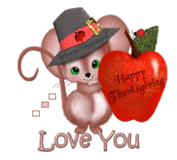 Love You - ThanksgivingMouse