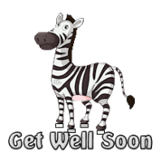Get Well Soon - DancingZebra