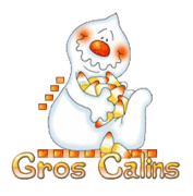Gros Calins - CandyCornGhost