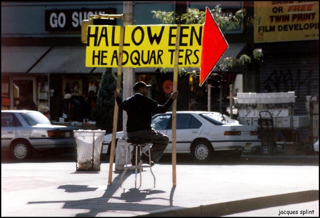 NYC, Greenwich Village, Halloween