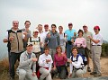 Farewell Hike Summit Toast