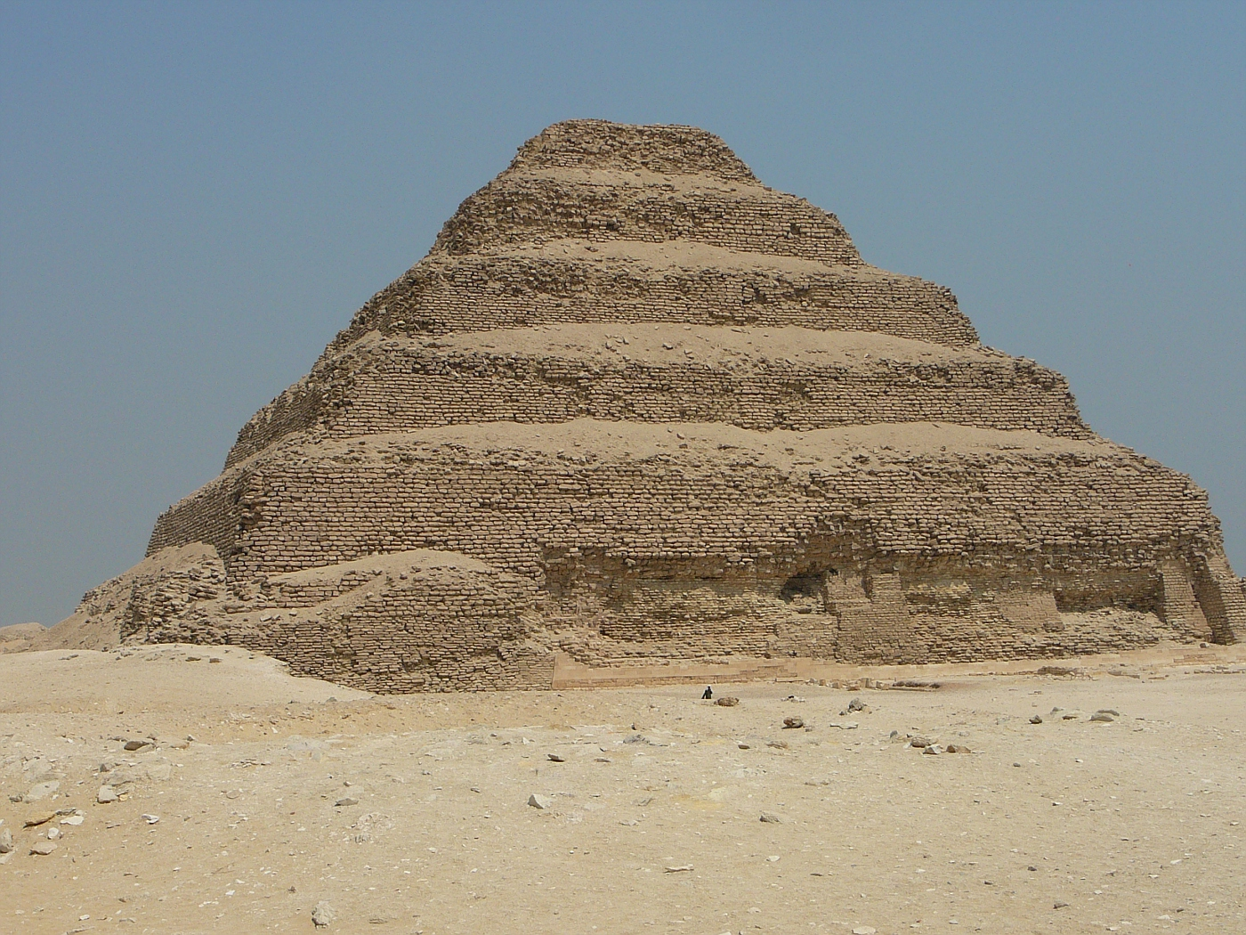 Step Pyramid of Zoser - Oldest Stone Monument